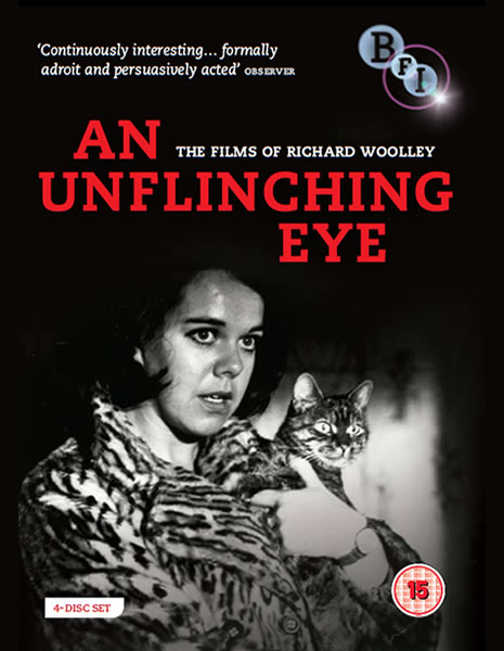 Richard Woolley's BFI DVD boxset An Unflinching Eye front cover